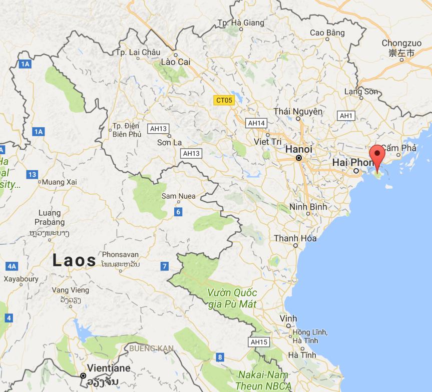 Cat Ba Island, Vietnam (6/16/17 –6/19/17)
