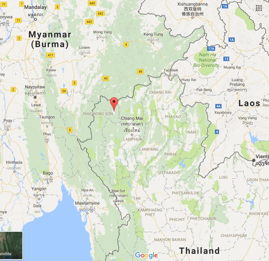 Pai, Thailand (6/2/17 –6/4/17)