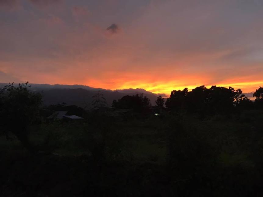 Pai Sunset