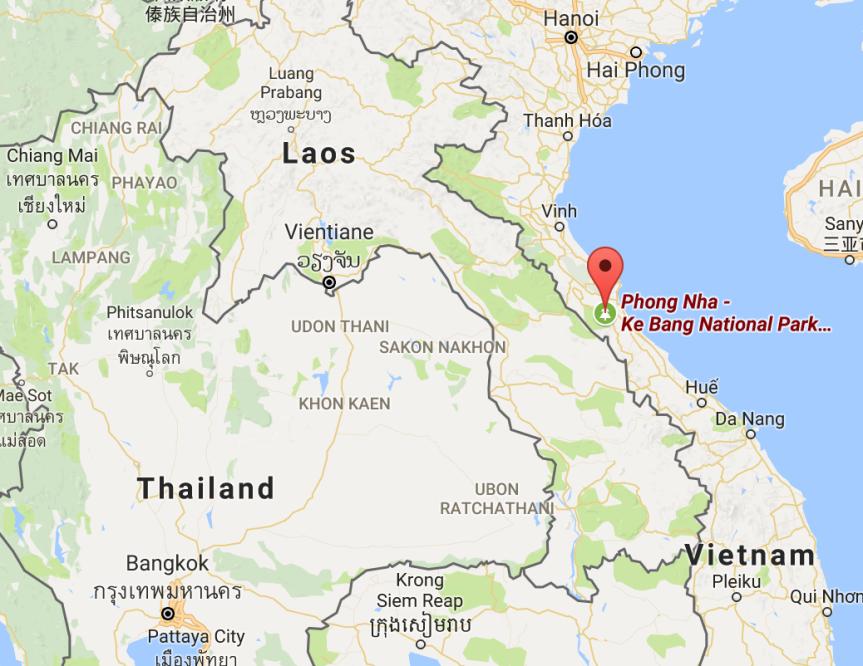 Phong Nha, Vietnam (6/20/17 –6/23/17)