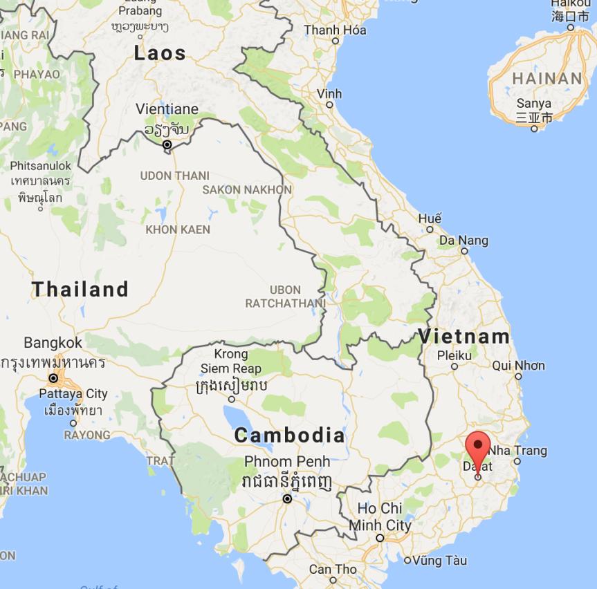 Da Lat, Vietnam (6/30/17 –7/3/17)