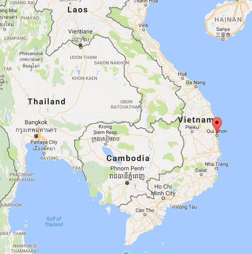 Quy Nhon, Vietnam (6/27/17 –6/29/17)